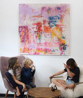 """Sevy Marie Art painting named """"Scatterbrain"""""""