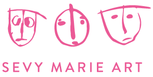 Sevy Marie Art Logo