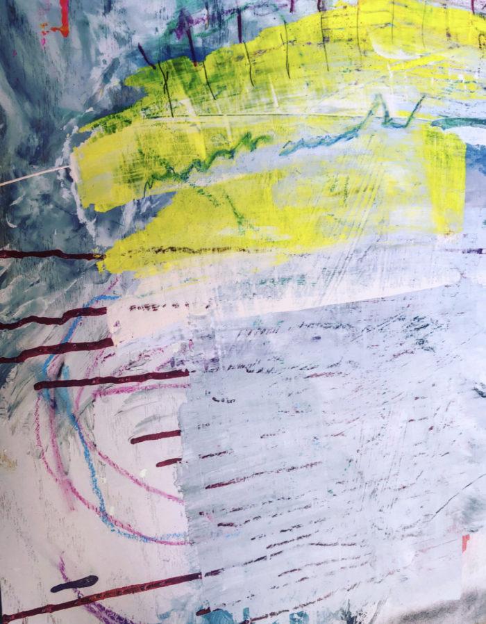 "Sevy Marie Art painting named ""Under the Texas Sun"""